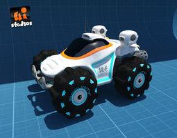 Scifi Buggy 3D Model