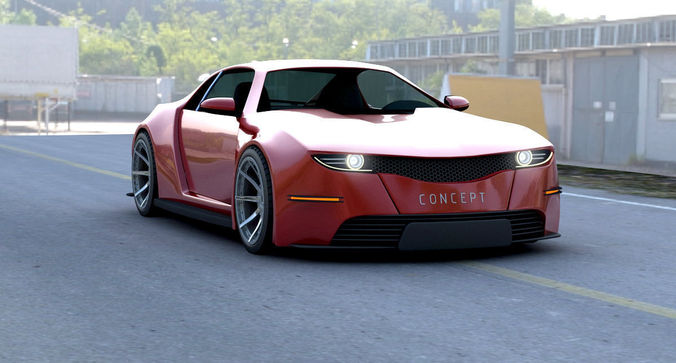 Concept Car3D model