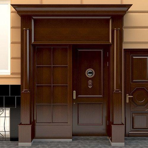 entrance to a government building 3d model max obj mtl 1