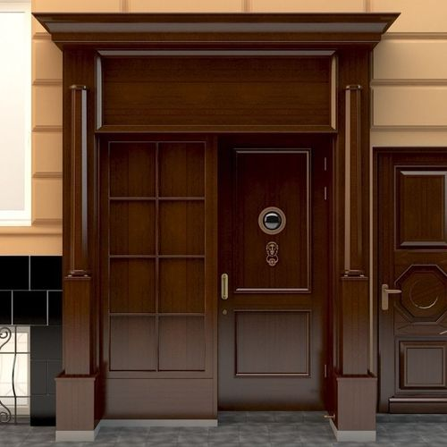 Entrance to a government building3D model