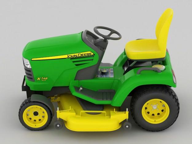 John Deere Lawn Mower 3d Models