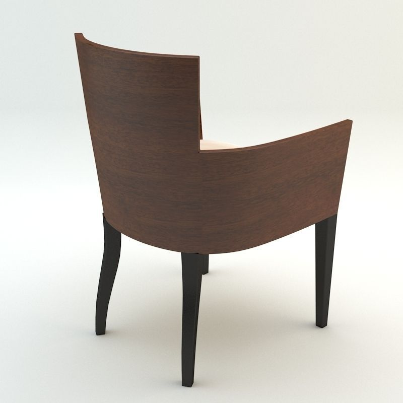 Simple armchair 3D Model MAX OBJ 3DS FBX | CGTrader.com
