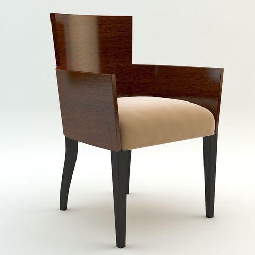 Simple armchair3D model