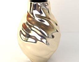 Golden Vase 3D Model