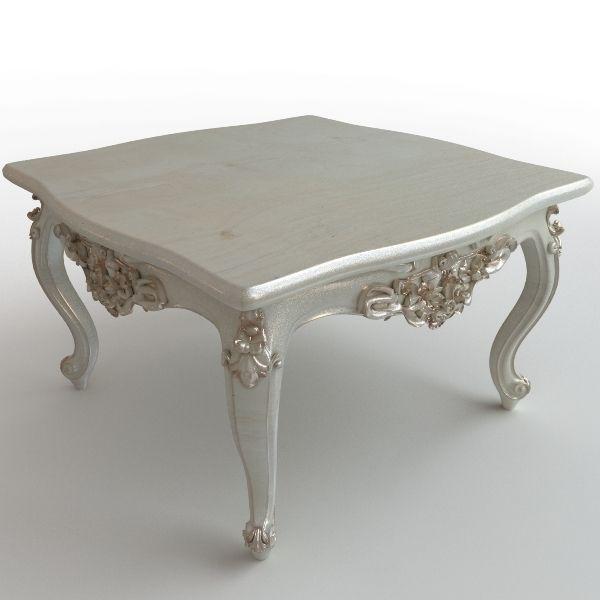 Baroque Coffee Table 3d Model Max Obj 3ds Fbx Mtl 1