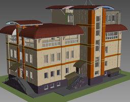 3D House with Rainscreen cladding