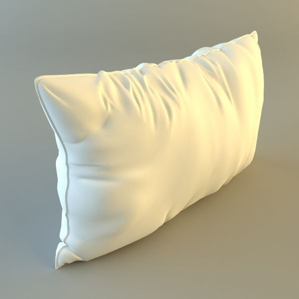 ecdf01a50c17be Throw Pillow 3D | CGTrader