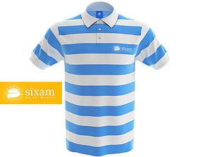 3D model Men Polo Shirt