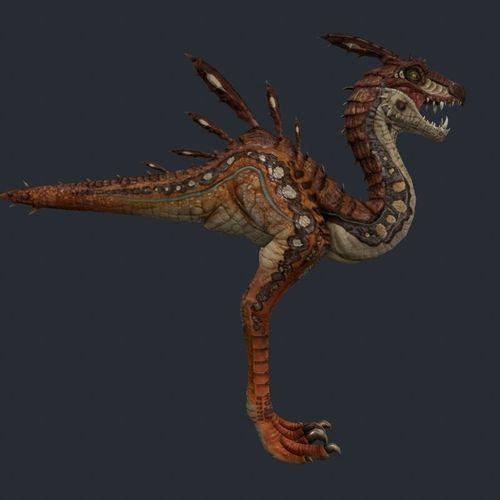 Raptor3D model
