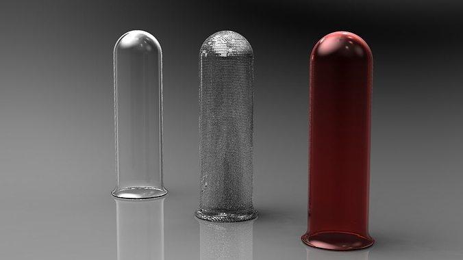 test tube 3d model stl ige igs iges ipt stp 1
