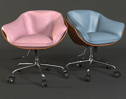 3D Swivel Chair seat