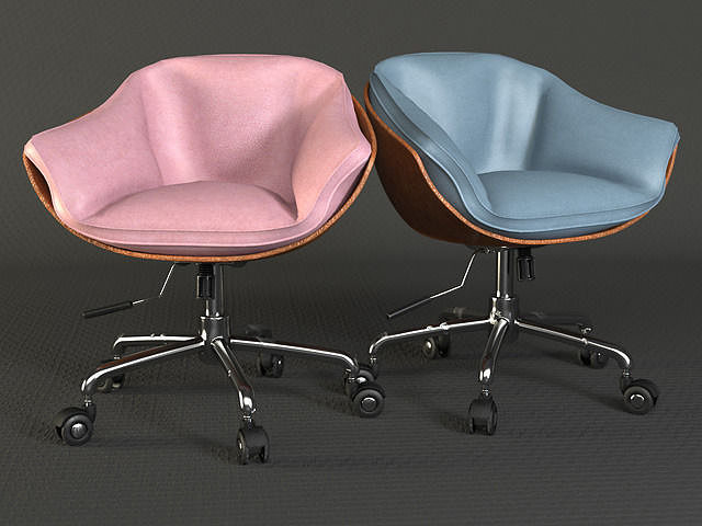 3d Swivel Chair Seat Cgtrader