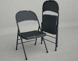 3D Metal Folding Chair