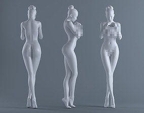 3D printable model Female body