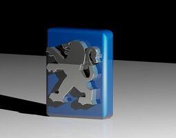 Peugeot Cars Logo 3D printable model