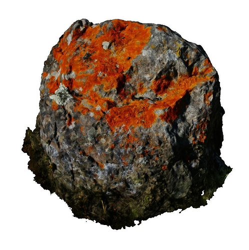 magic stone - hd scan 3d model obj mtl ply 1