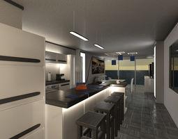 Mr Living Space 01 3D Model
