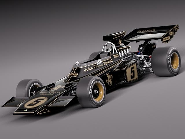 Lotus 72d John Player Special 1970-1975