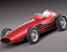 Maserati 250f 1954-1960 grand prix 3D Model