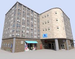 city building 4 3D Model