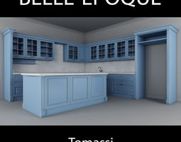 Kitchen Belle Epoque Tomassi 3D Model