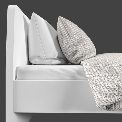 IKEA ASKVOLL Bed 3D Model .max .obj .fbx