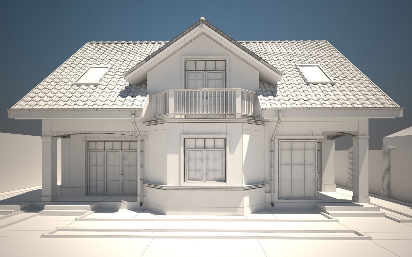 3ds max house modeling