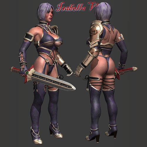 Isabella V RIGGED3D model