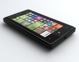 Microsoft Lumia 532 3D Model