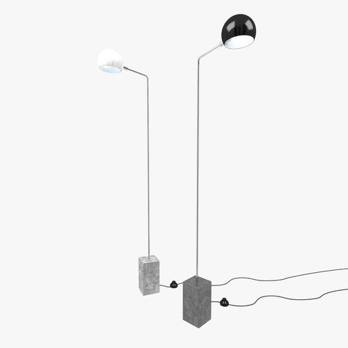 David Weeks Cement Standing lamp3D model