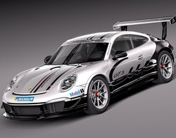 Porsche 911 GT3 Cup 2013 3D Model