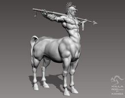 One Horse 3D Model