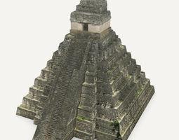 Tikal Temple 1 3D Model