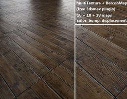 floorboards Parquet - Antique oak - MultiTexture 3D