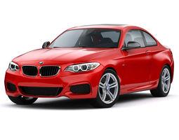 BMW M235i Coupe 2015 3D Model