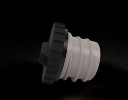 Fuel Tank Cap 3D Model