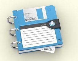 Disketa 3D model