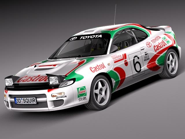Toyota Celica WRC Carlos Sainz 1991