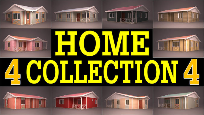 HOME COLLECTION 43D model