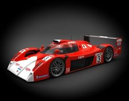 Toyota GT-ONE TS020 1999 3D model