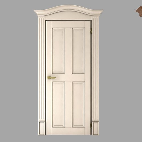 ... classic doors collection 3d model max obj 3ds fbx mtl 3 ... & Classic Doors Collection 3D model | CGTrader pezcame.com