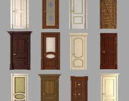 Classic Doors Collection 3D model