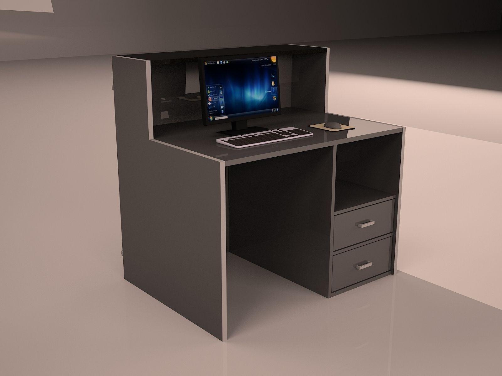 Check In Desk Single Model Max 2