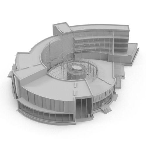 Development Center3D model