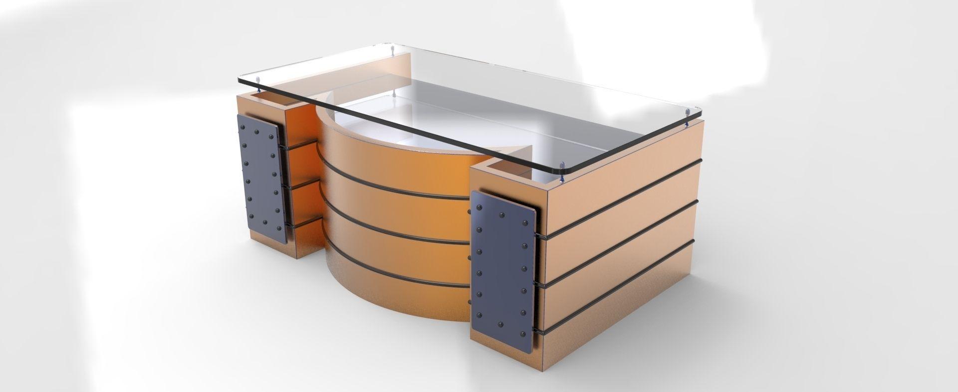 office table models. Office Table 3d Model Stl Sldprt Sldasm Slddrw Models O
