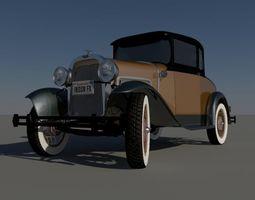 Classic Car 1930 3D model