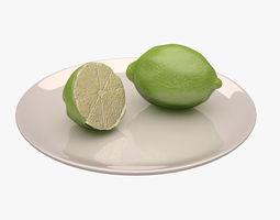 Lemon 3D asset