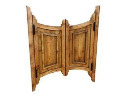 3D asset Door 30 saloon