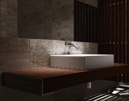 bathroom styl 3D asset