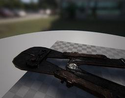 Rusty Bolt cutter 3D model